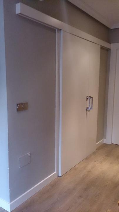 Puertas de interior lacadas en blanco fabulous puerta for Puertas lacadas blancas baratas