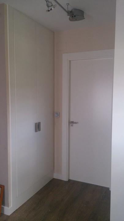 Puertas de interior carpinter a y ebanister a en palencia - Lacar puertas en blanco presupuesto ...